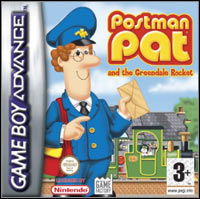 Game Box for Postman Pat and the Greendale Rocket (GBA)