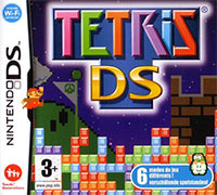 Game Box for Tetris DS (NDS)