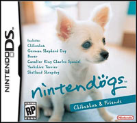 Okładka Nintendogs: Chihuahua & Friends (NDS)