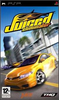 Okładka Juiced: Eliminator (PSP)