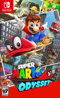 Game Box for Super Mario Odyssey (Switch)