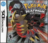 Game Box for Pokemon Platinum (NDS)