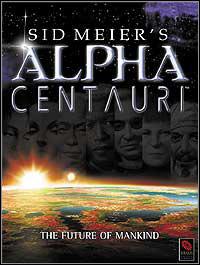 Okładka Sid Meier's Alpha Centauri (PC)