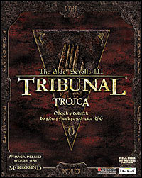 Okładka The Elder Scrolls III: Tribunal (PC)