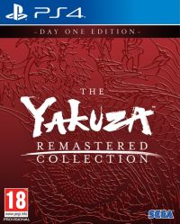 Game Box for The Yakuza Remastered Collection (PS4)