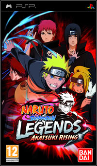 Okładka Naruto Shippuden: Legends: Akatsuki Rising (PSP)