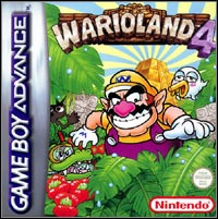 Game Box for Wario Land 4 (GBA)