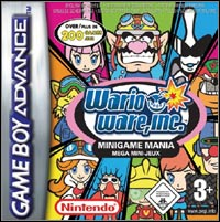 Game Box for WarioWare Inc.: Mega MicroGame$ (GBA)
