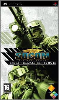 Okładka SOCOM: U.S. Navy SEALs Tactical Strike (PSP)