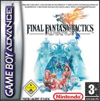 Game Box for Final Fantasy Tactics Advance (GBA)