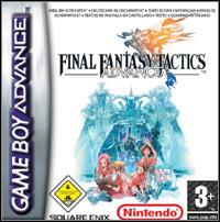 Final Fantasy Tactics Advance (GBA cover