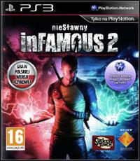 Okładka inFamous 2 (PS3)