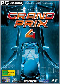 Okładka Geoff Crammond's Grand Prix 4 (PC)