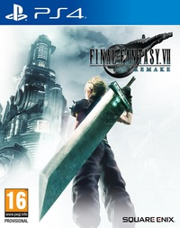 Game Box for Final Fantasy VII Remake (PS4)