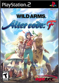 Okładka Wild Arms Alter Code: F (PS2)