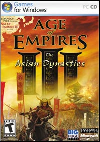 Okładka Age of Empires III: The Asian Dynasties (PC)