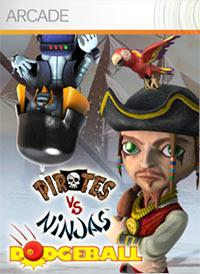 Pirates vs. Ninjas Dodgeball (X360 cover