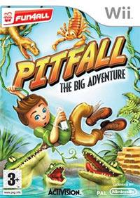 Okładka Pitfall: The Big Adventure (Wii)
