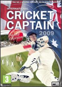 International Cricket Captain 2009 (PC cover