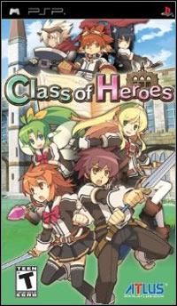 Okładka Class of Heroes (PSP)