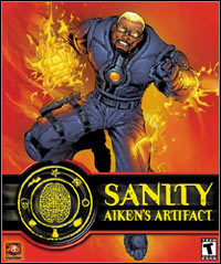 Game Box for Sanity: Aiken's Artifact (PC)