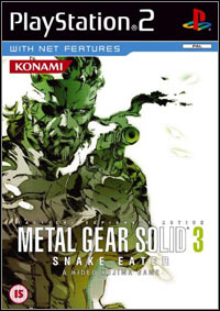Okładka Metal Gear Solid 3: Snake Eater (PS2)