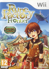 Game Box for Rune Factory: Frontier (Wii)