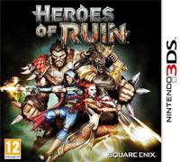 Okładka Heroes of Ruin (3DS)