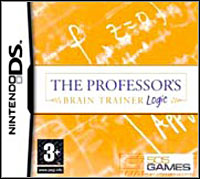 Game Box for The Professor's Brain Trainer: Memory (NDS)