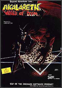 Okładka Akalabeth: World of Doom (PC)