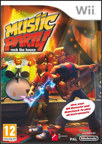 Musiic Party: Rock the House (Wii cover