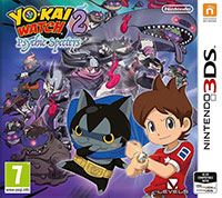 Okładka Yo-kai Watch 2: Psychic Specters (3DS)