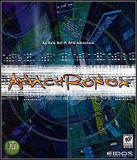 Okładka Anachronox (PC)