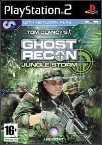 Okładka Tom Clancy's Ghost Recon: Jungle Storm (PS2)