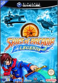 Okładka Skies of Arcadia Legends (GCN)