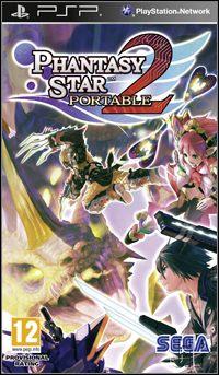 Okładka Phantasy Star Portable 2 (PSP)