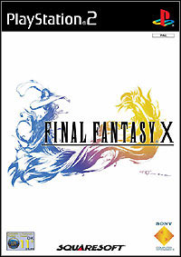 Okładka Final Fantasy X (PS2)