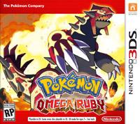 Okładka Pokemon Omega Ruby (3DS)