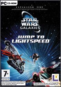 Okładka Star Wars Galaxies: Jump to Lightspeed (PC)