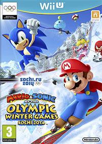 Okładka Mario & Sonic at the Sochi 2014 Olympic Winter Games (WiiU)