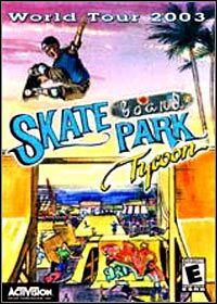 Game Box for Skateboard Park Tycoon: World Tour 2003 (PC)