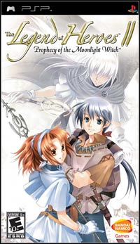 Okładka The Legend of Heroes II: Prophecy of the Moonlight Witch (PSP)