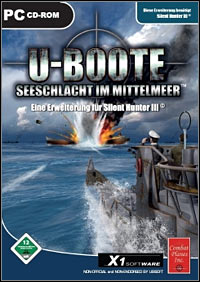 Okładka U-Boat: Battle in the Mediterranean (PC)
