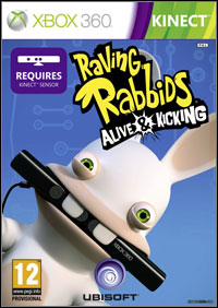 Game Box for Raving Rabbids: Alive and Kicking (X360)