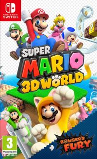 Game Box for Super Mario 3D World + Bowser's Fury (Switch)