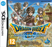 Game Box for Dragon Quest IX: Sentinels of the Starry Skies (NDS)