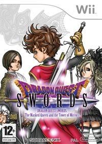 Okładka Dragon Quest Swords: The Masked Queen and the Tower of Mirrors (Wii)