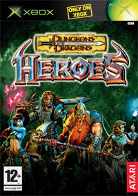 Game Box for Dungeons & Dragons: Heroes (XBOX)