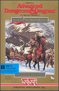 Okładka Secret of the Silver Blades: Fantasy Role-Playing Epic Vol. III (PC)