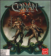 Okładka Conan the Cimmerian (PC)